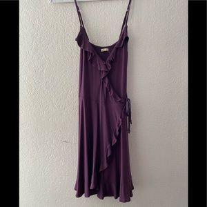 Hollister purple dress